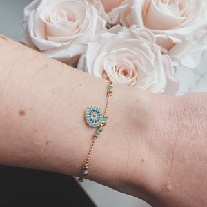 Jewelry - Turkish Turquoise Coin Bracelet